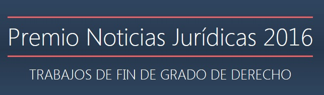 Premio Noticias Jurídicas 2016